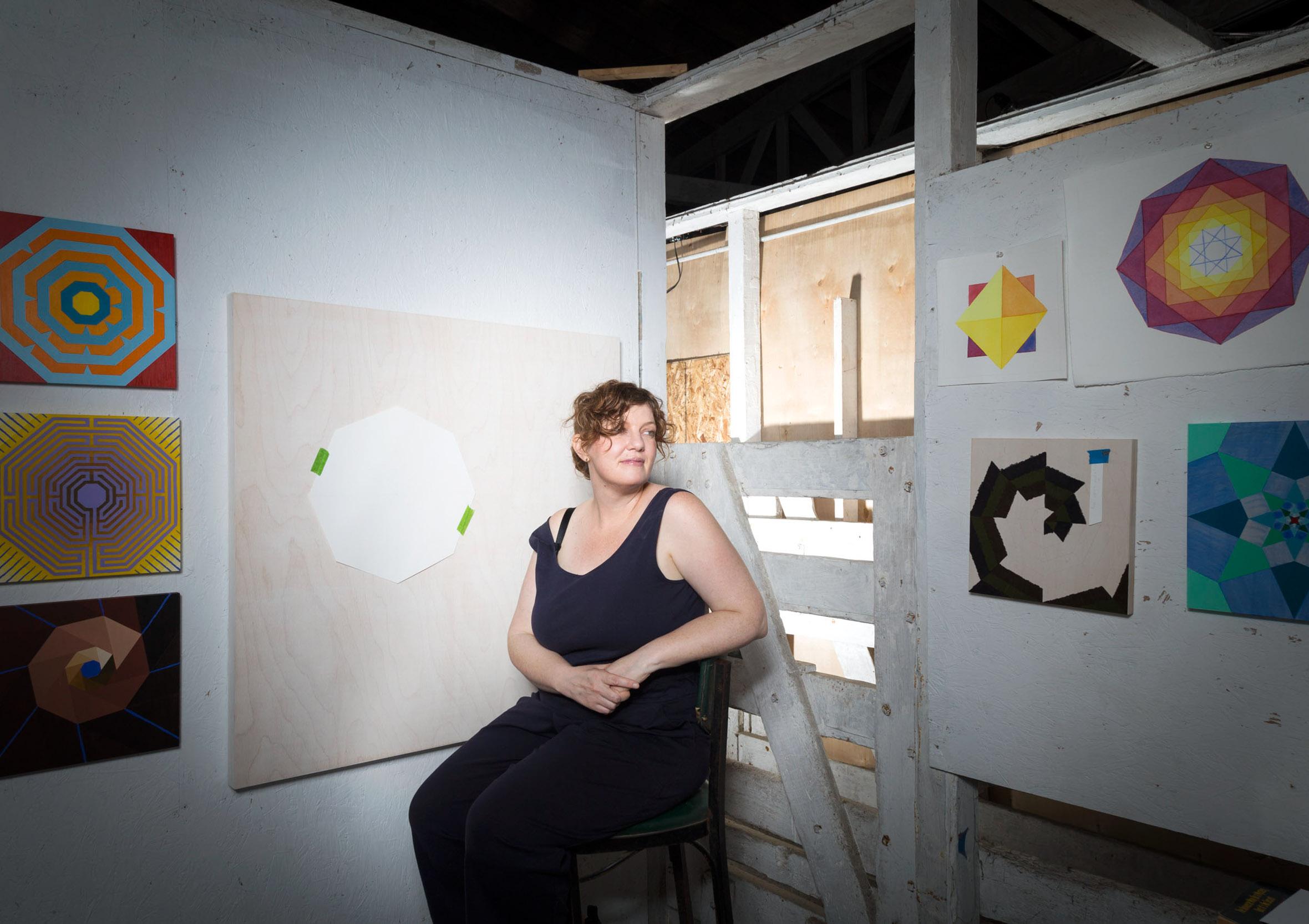 AMBER HEATON - Artist-in-Residence