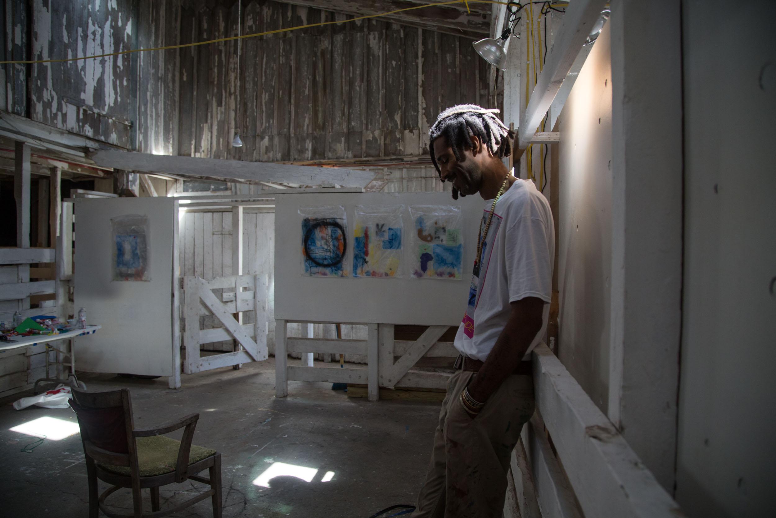 KWESI ABBENSETTS - Artist-in-Residence