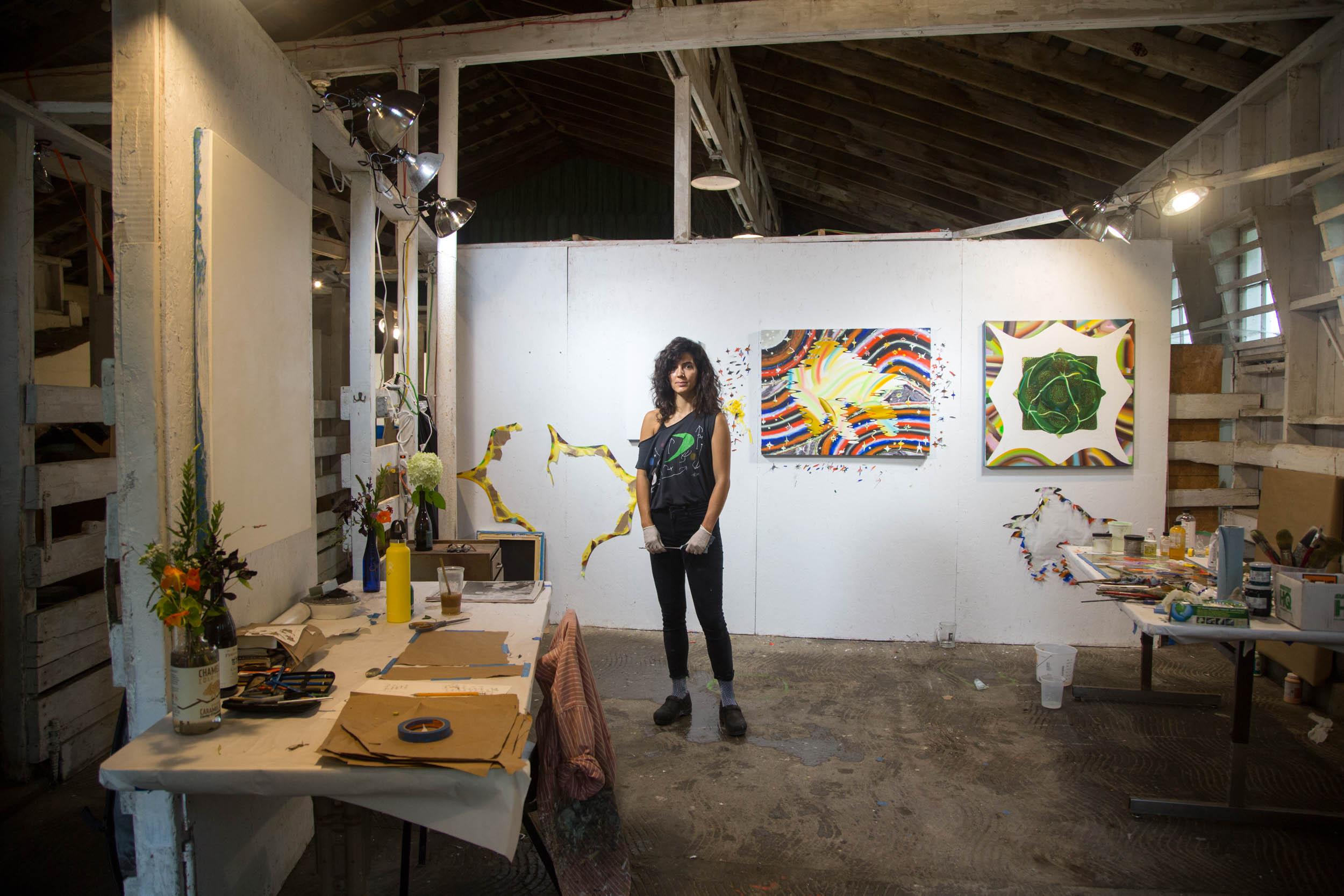 SARAH BENEZRA - Artist-in-Residence