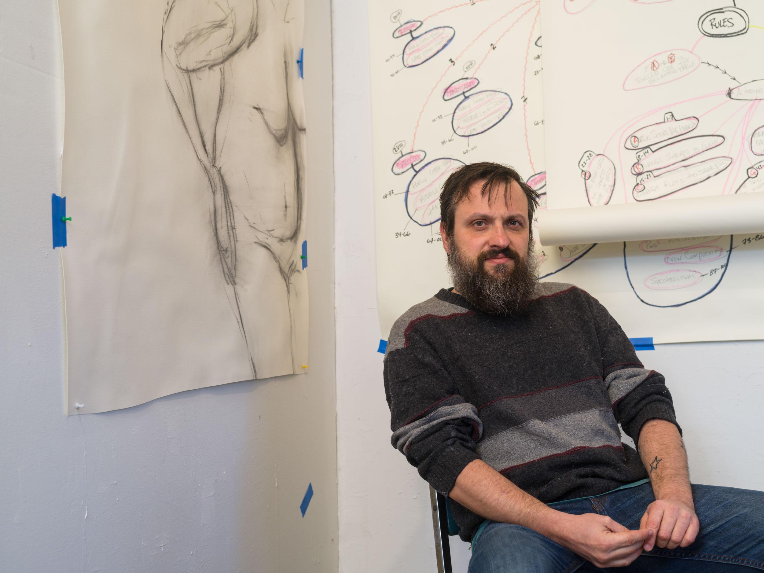 SEAN NAFTEL - Artist-in-Residence