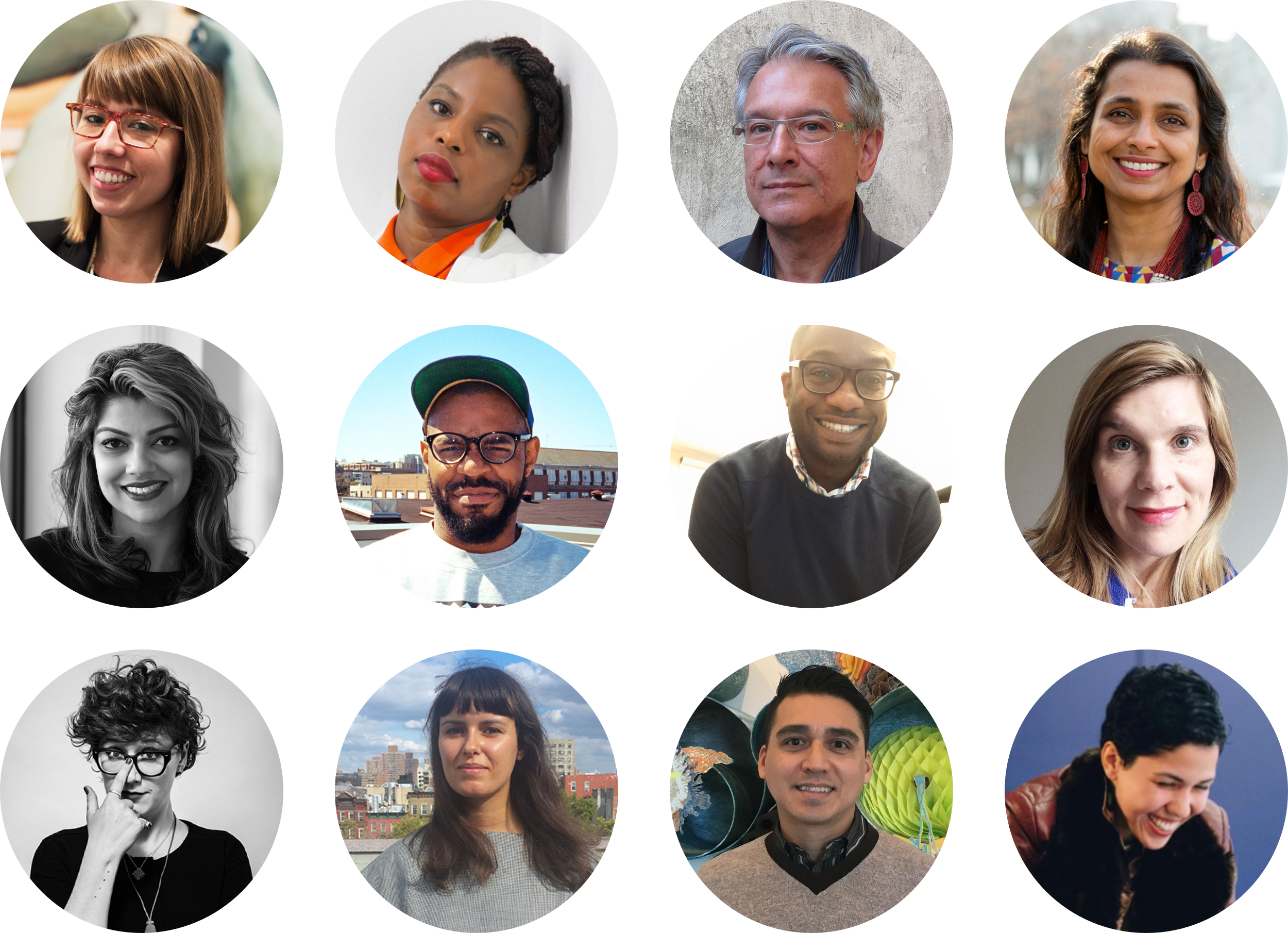 Top to bottom, left to right: Carmen Hermo, Zina Saro-Wiwa, Richard Klein, Prerana Reddy, Jasmine Wahi, James Williams II, Horace Ballard, Jennifer Schmidt, Barbara Bourland, Anna Harsanyi, Gabriel de Guzman, Ali Rosa-Salas