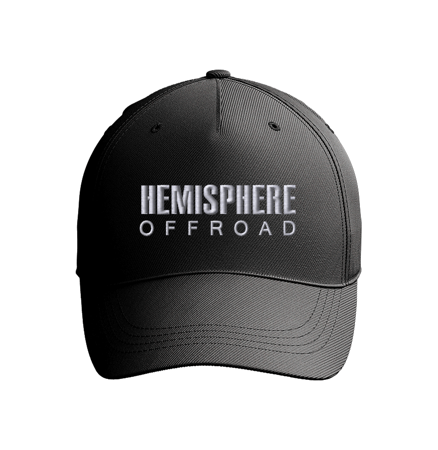 Secret sale: HEMISPHERE OFFROAD CAPS - Email or message us to order yours today. Black with white embroidered logo, one side fits most.$15.95 + shippingsales@hemisphereoffroad.comNot available in our store yet! But you can order yours early. Allow one week to ship.