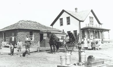 Homesteader's House