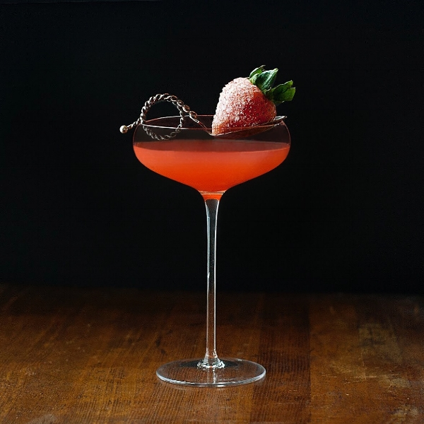 Blood, Sweat + Tears, a tequila, blood orange and chipotle honey cocktail