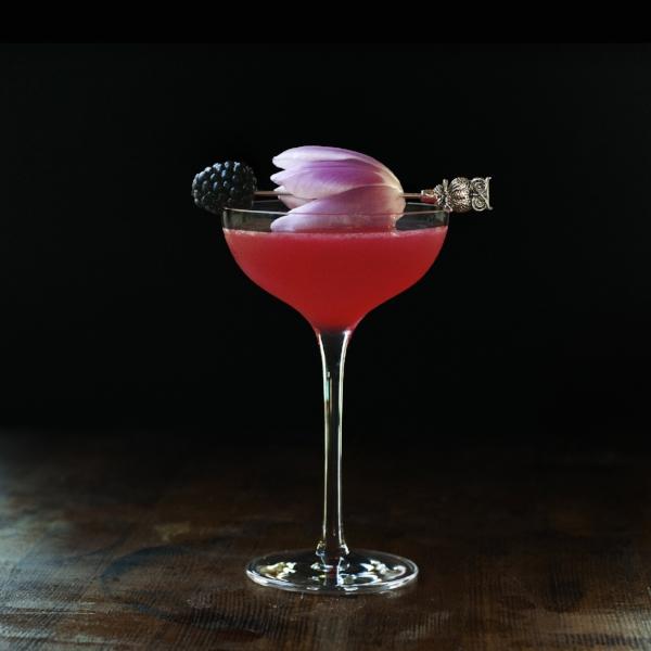 May Flowers - a vodka and kombucha cocktail