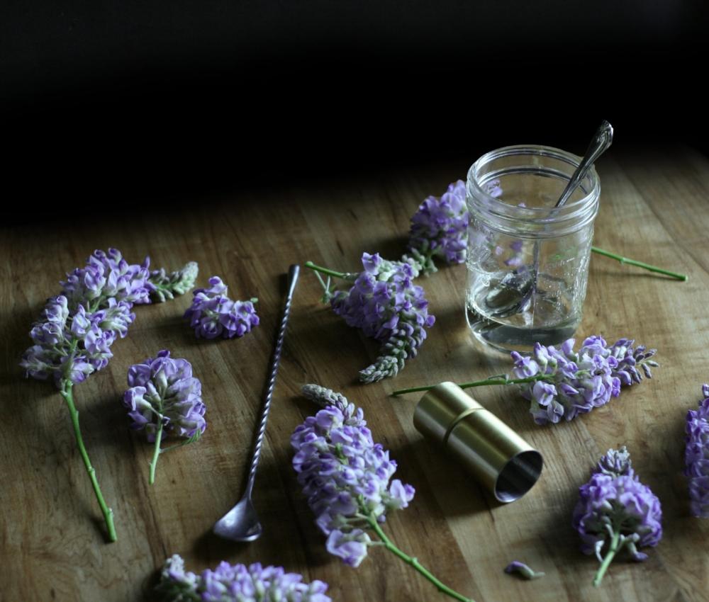 wisteria syrup recipe