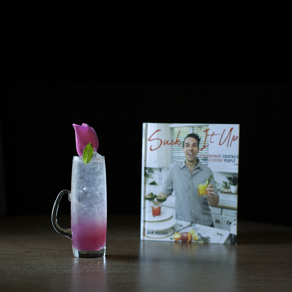 Rose Dew - Moody Mixologist - Recipe by Dan Magro