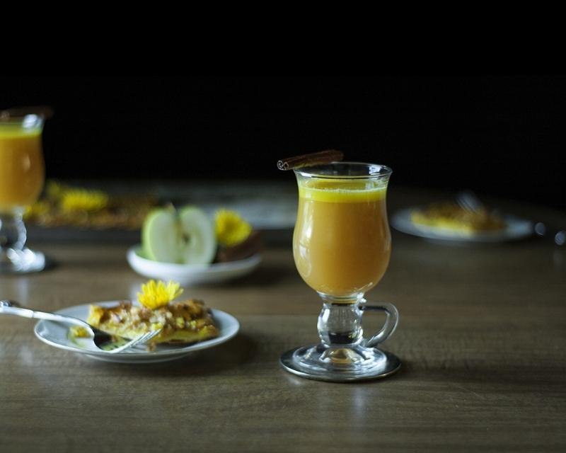 Turmeric Chai Hot Buttered Rum