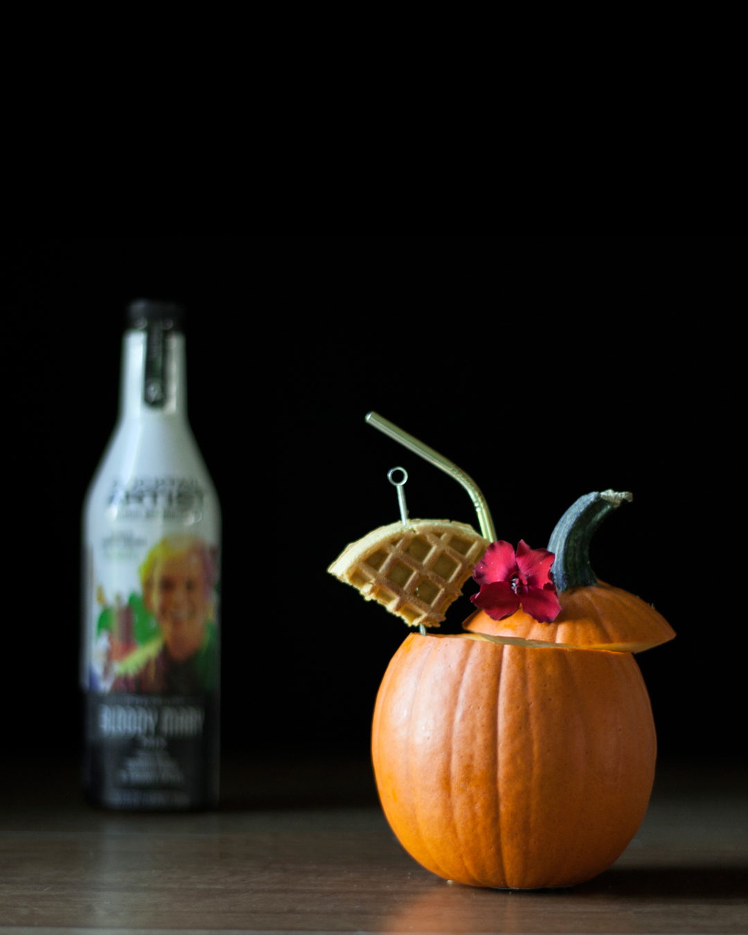 Bloody Pumpkin - a roasted pumpkin bloody mary cocktail.jpg