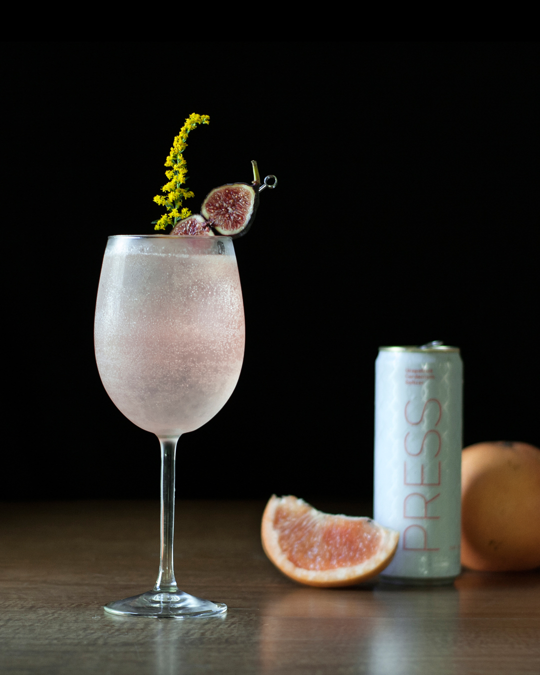 Fig and Cardamom Paloma made with PRESS Grapefruit and Cardamom Seltzer.jpg
