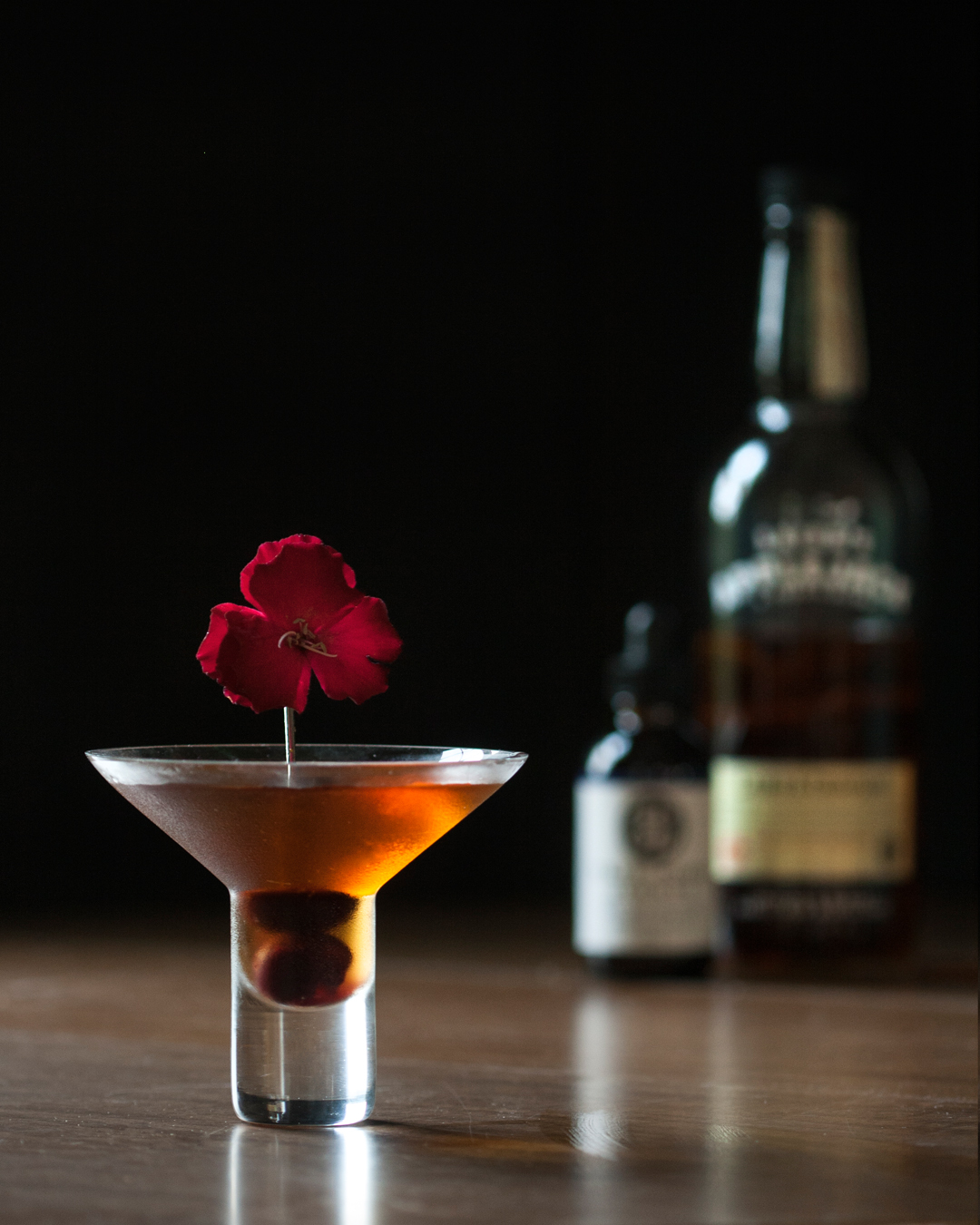 Autumn in the City - a spiced fall Manhattan with applejack and rye.jpg