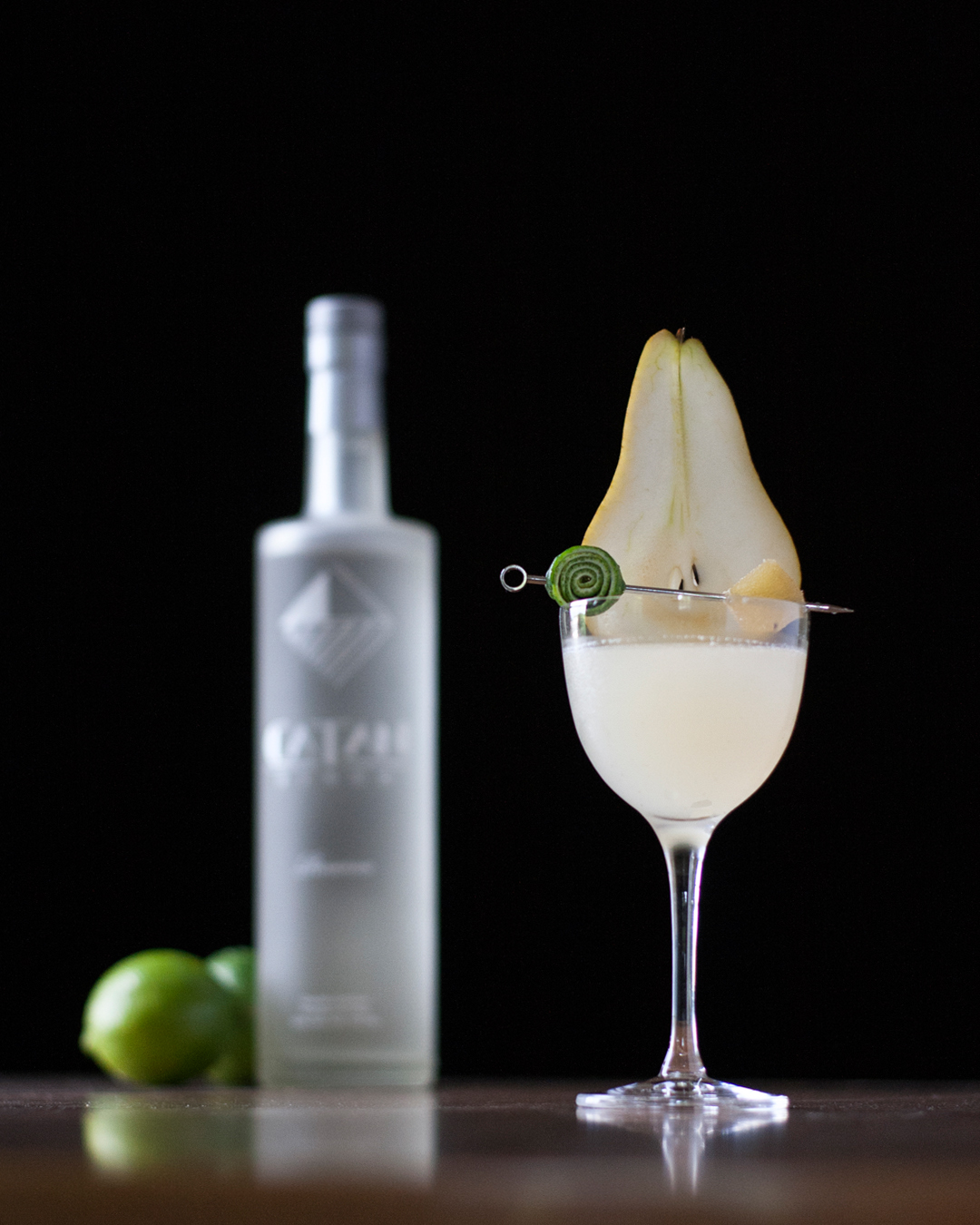 Pear and Ginger Pisco Sour featuring Catan Pisco.jpg