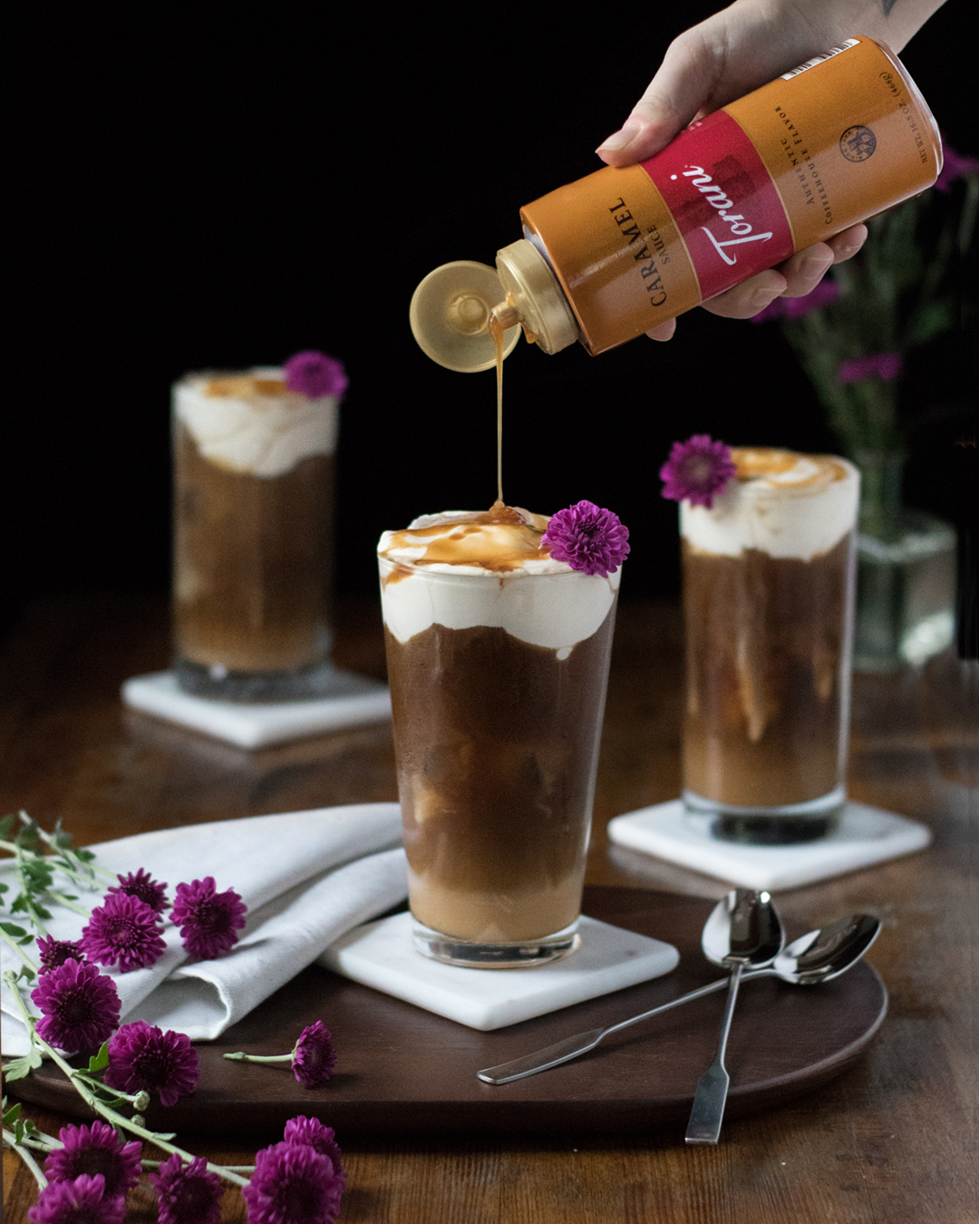 boozy salted caramel cheese cream cold brew