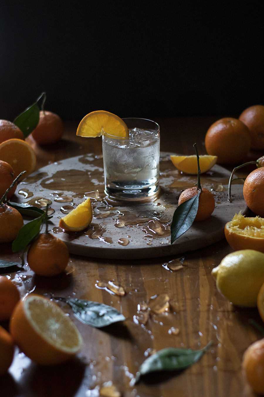 how to make a crystal clear screwdriver with satsuma mandarin juice