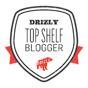 drizly top shelf blogger badge