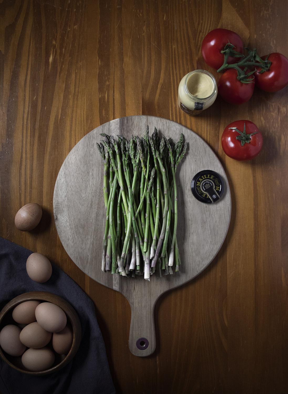 Maille Dijon Originale Asparagus Frittata