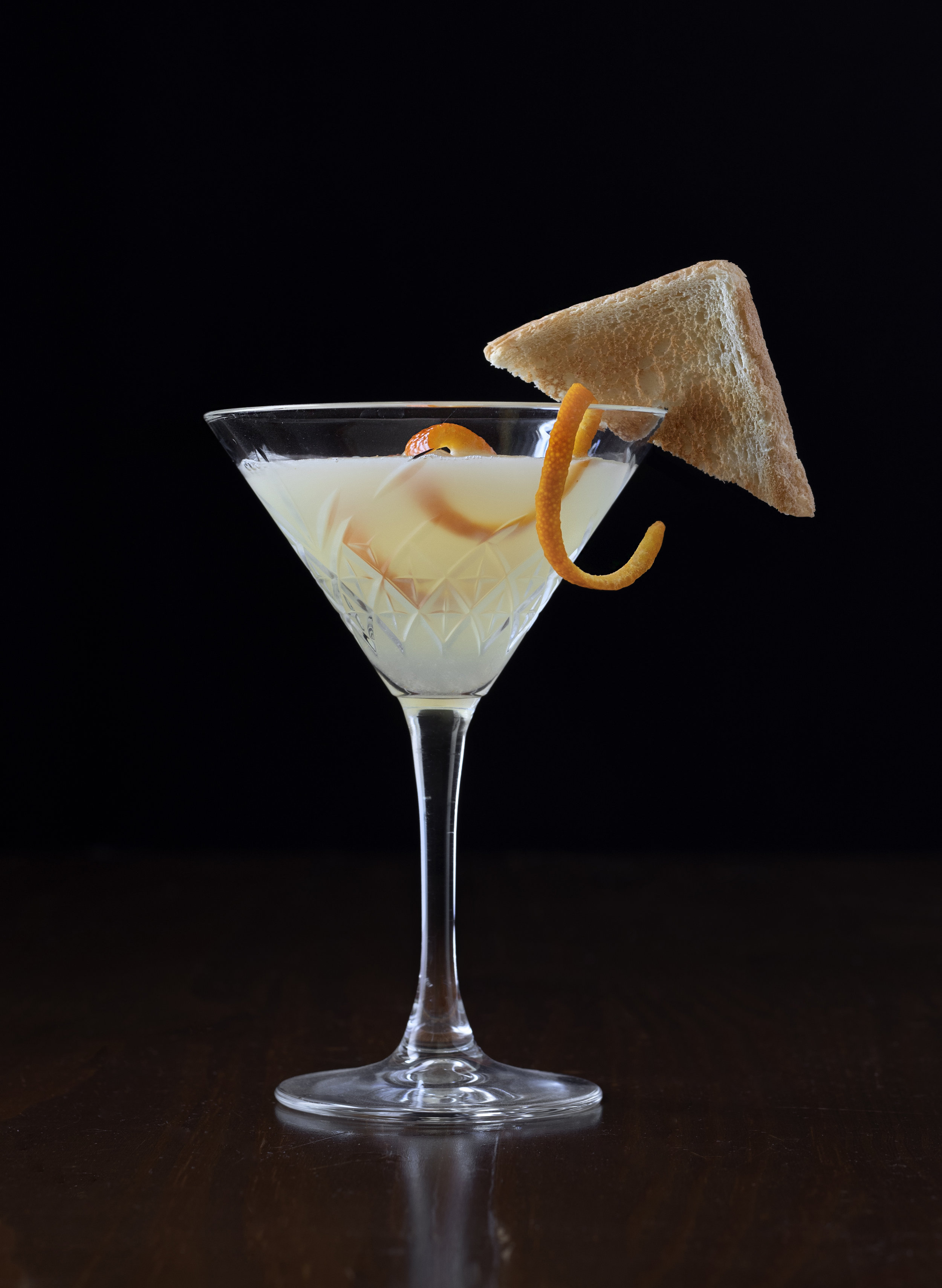 A Breakfast Martini uses a touch of bittersweet orange marmalade to balance the sweet and sour elements.