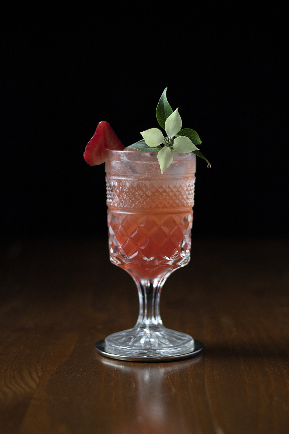 Rose Summer Punch by Amy Traynor / moody mixologist