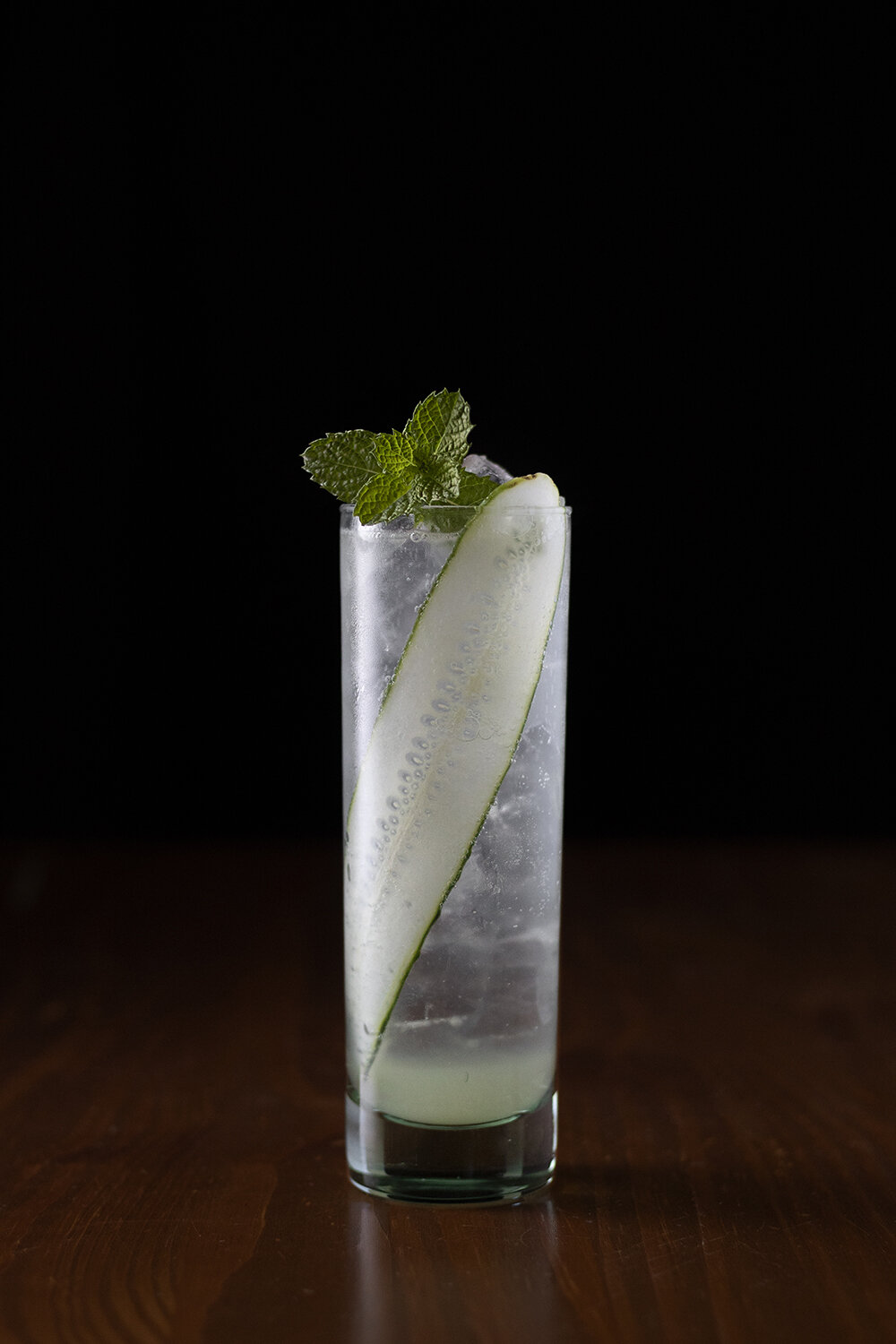 Cucumber Mint Vodka Soda