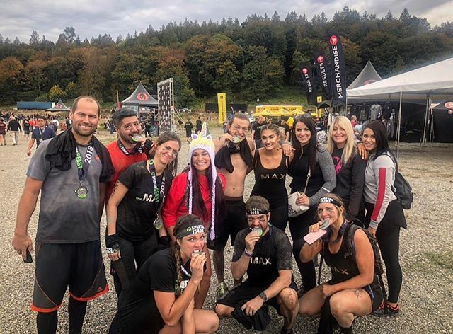Mud on MAX=BADASS PERFECTION  We are proud of all of our athletes. Rope climbs, Olympus wall, and spear throws were achieved. New Trifecta club members, 1st timers and elite racers were created and we can't wait to see what is in the future. Watch out world, cause we have the best of the best and they are here to stay.. . . . #spartanrace #ocr #strong #conditioned #train #spartans #workout #run #race #bringit #athletes #theMAX #teamMAX #muscles #badass #unicorn #enditmovement #healthy #lifestyle #warriors #beastmode #gym #gymfreaks #sweat #strength #squad #bringit.. . . . P.S-we have two teams signed up for the March vegas-ona super and sprint. We would love to have you join us and come train with us if you are local. AROO to you.