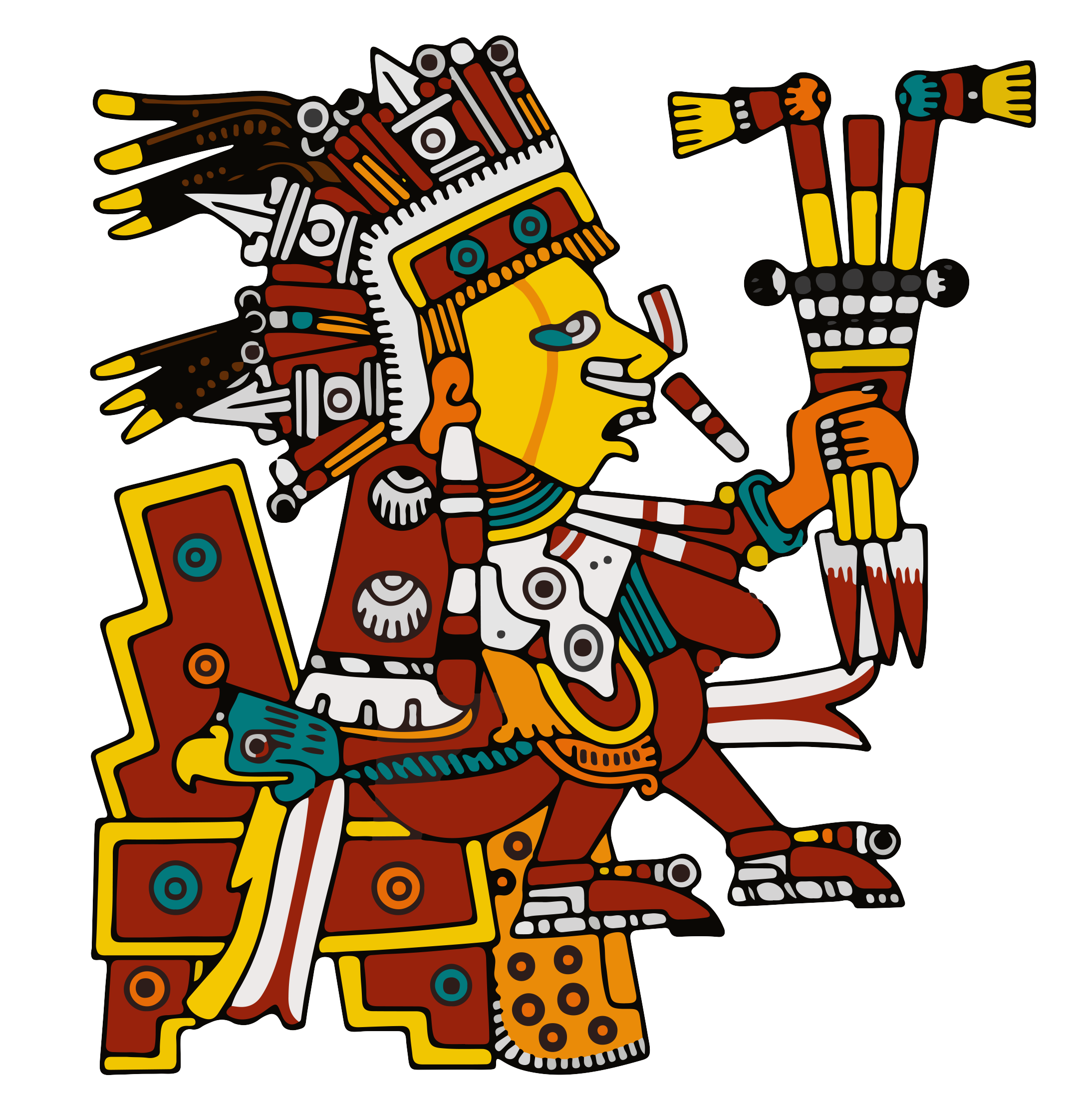Xipetotec - The symbol of medicine, honoring our Women, the season of Spring and new beginnings. The direction of West.