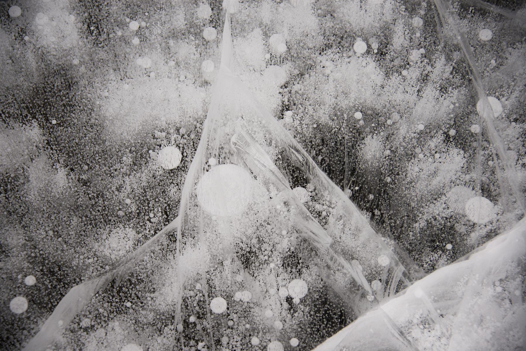 Cosmic Patterns I, Lake Hoare