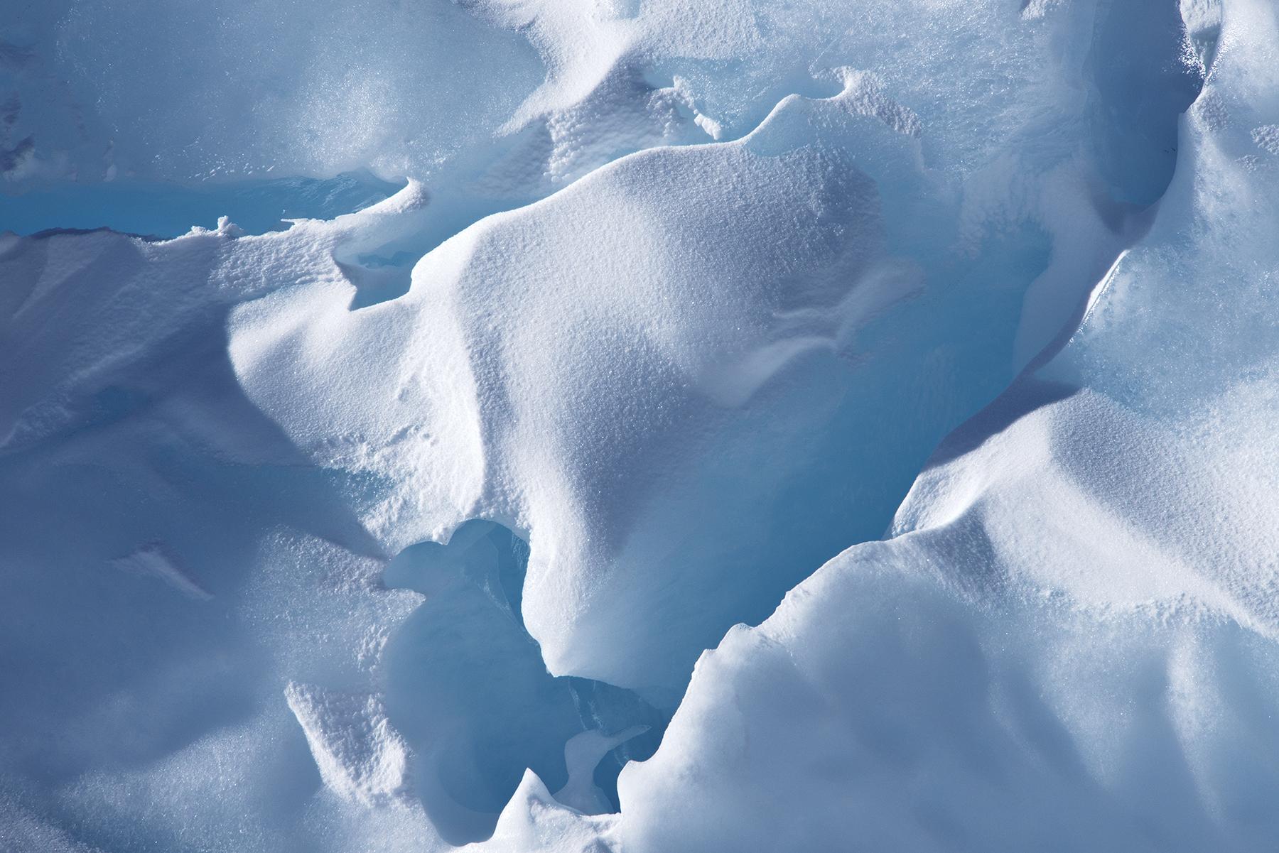 Snow Fragments, Cape Bird Pressure Ridges
