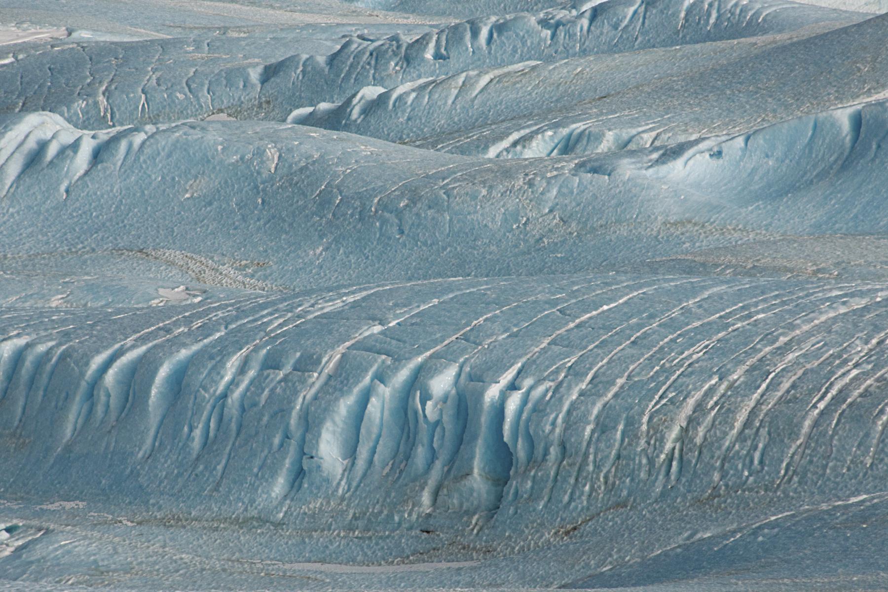 Wind Formation, Victoria Lower Glacier