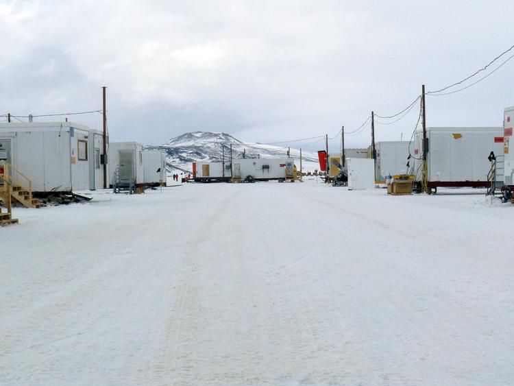 Runway support at McMurdo