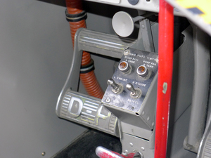 The pedal is used for much of its operation so they are somewhat worn