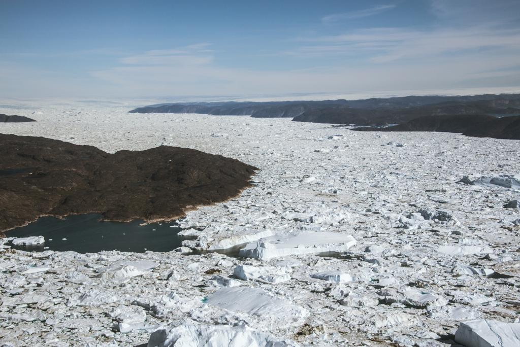 Above: Jakobshavn Glacier