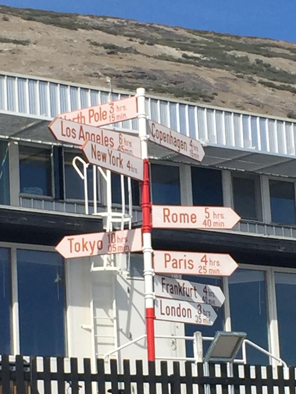 Kangerlussuaq, Greenland  67 degrees N 50.69 degrees W