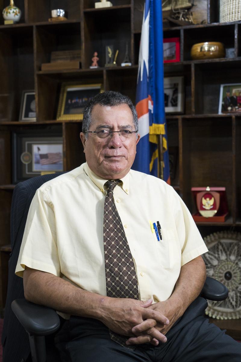 Minister John Silk