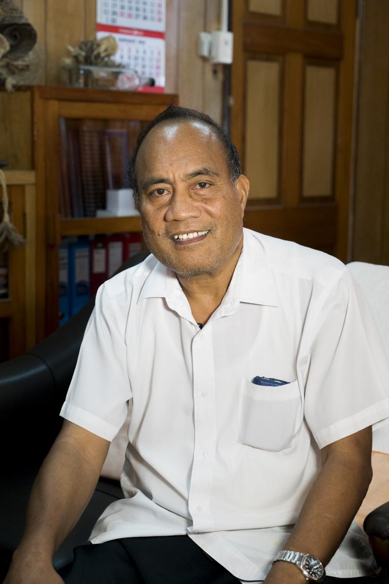 President Taneti Maamau