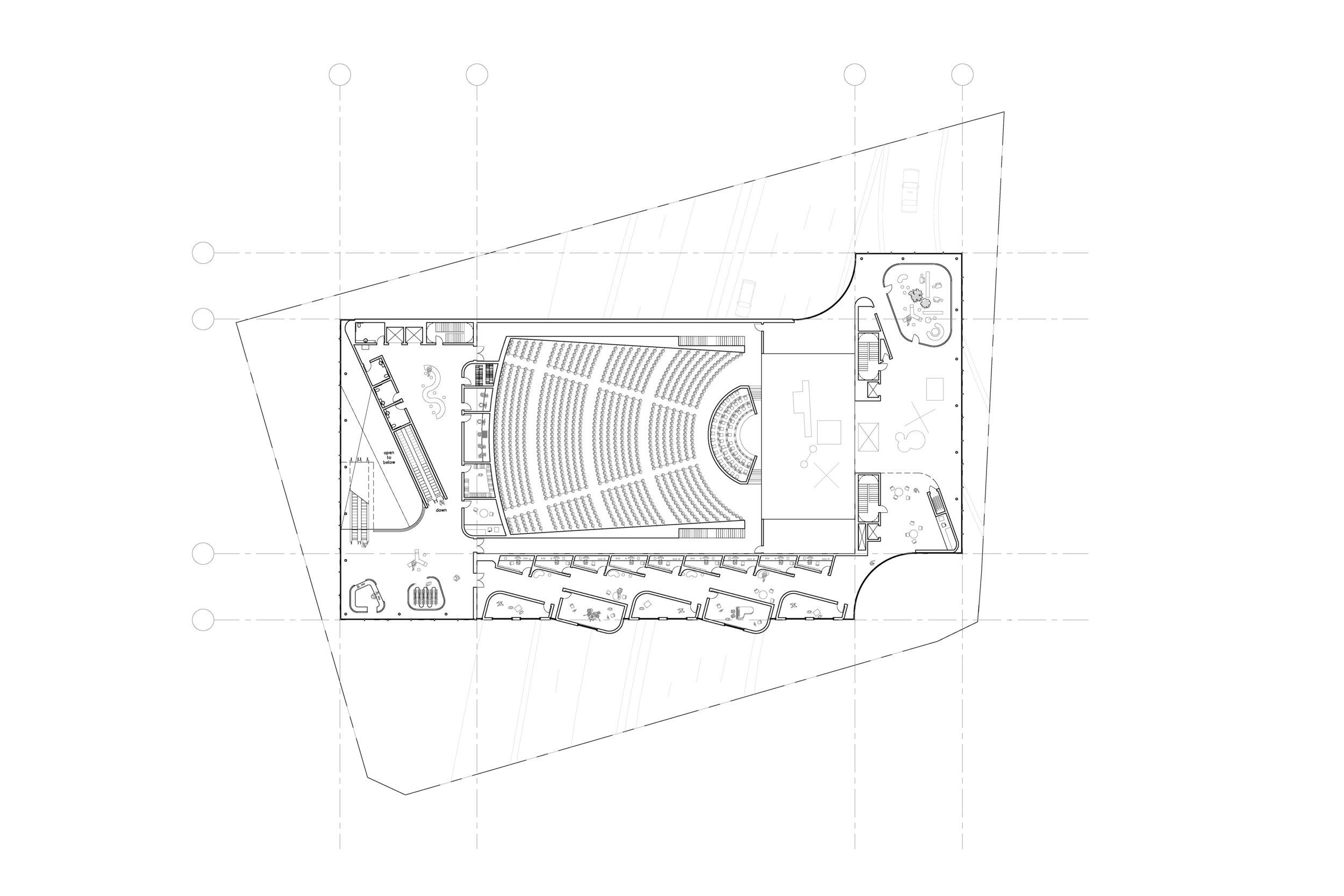Level 3, Main Auditorium