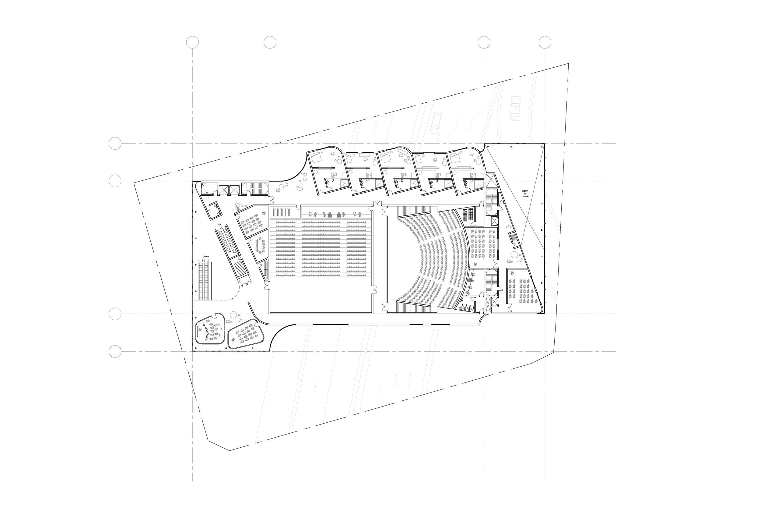 Level 6, Studio Theater / Black Box