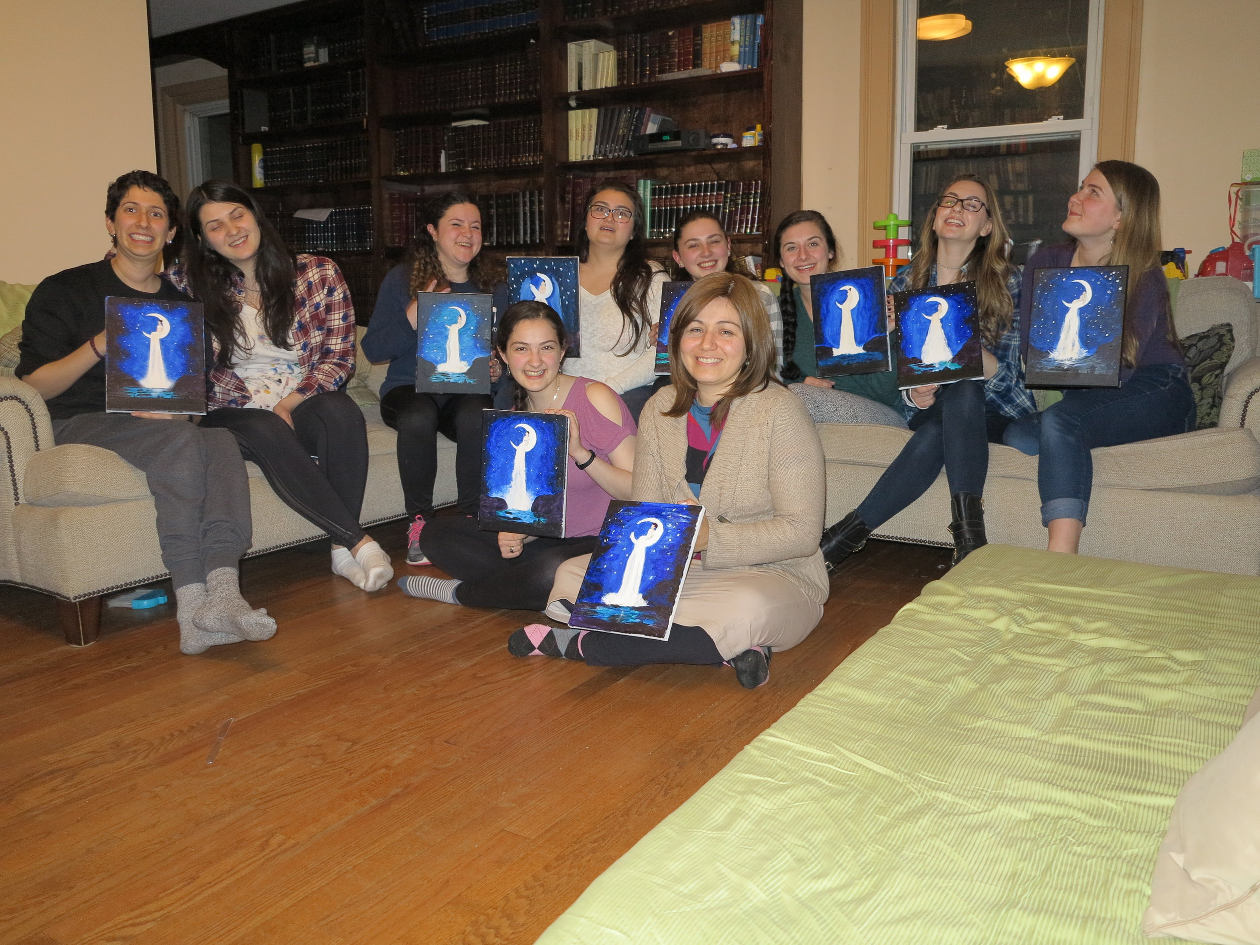 Women's Paint Night - Look at the Jewish culture you foster!