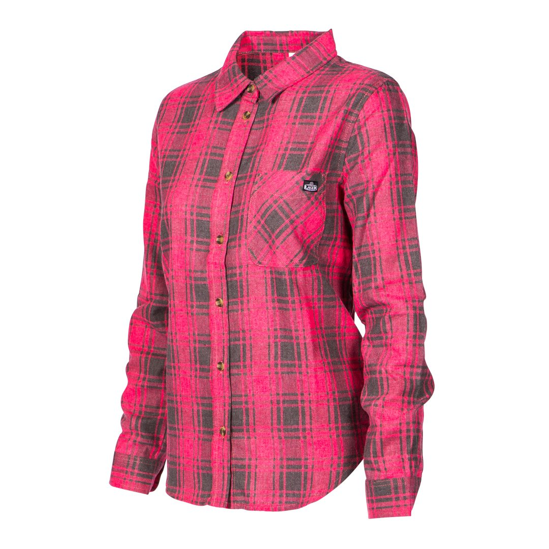 Lager Flannel (Red Ladies) - $55