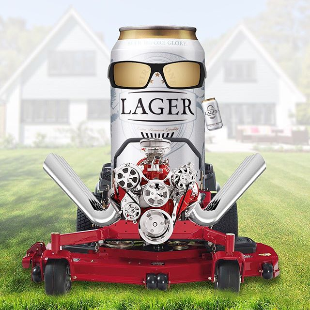 Firestone Lager: Your dad's lawn mowing beer since 2018.