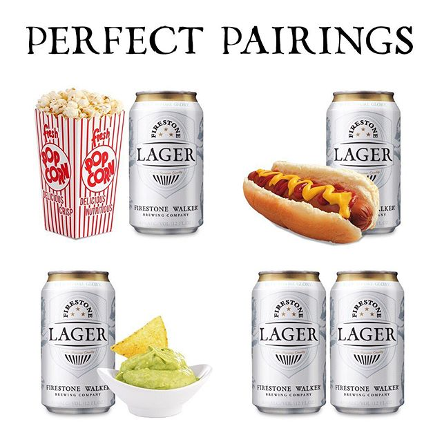 Your holiday weekend shopping list is ready. #firestonelager #memorialday #perfectpairings