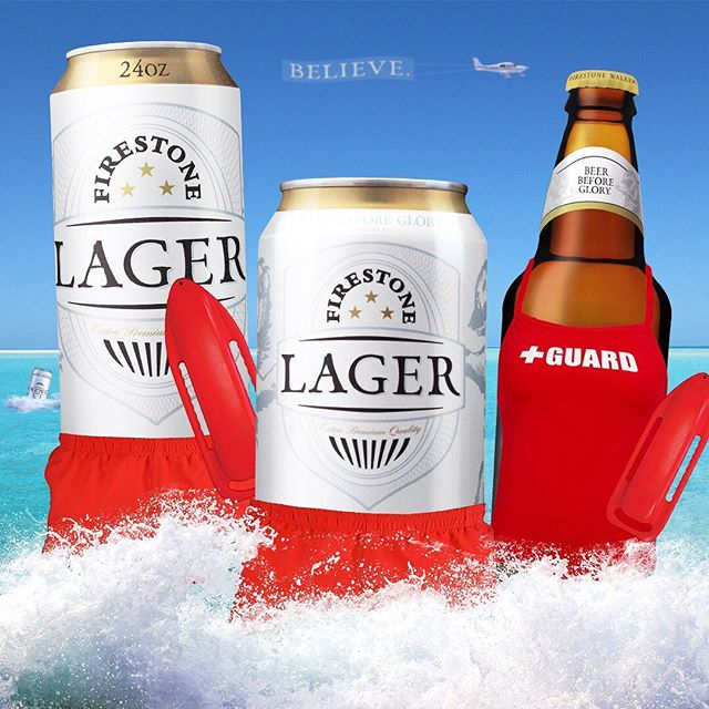 "It's #LagerSeason! ""Lager'll be ready. Never you fear. Lager'll be ready, forever and always. Lager's always here."""