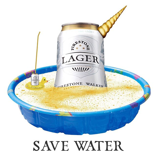 Remember to conserve water this summer! #LagerSeason #firestonelager #summer