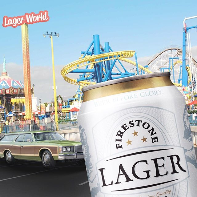 Take Firestone Lager with you this summer. The perfect vacation companion. #firestonelager #summervacation