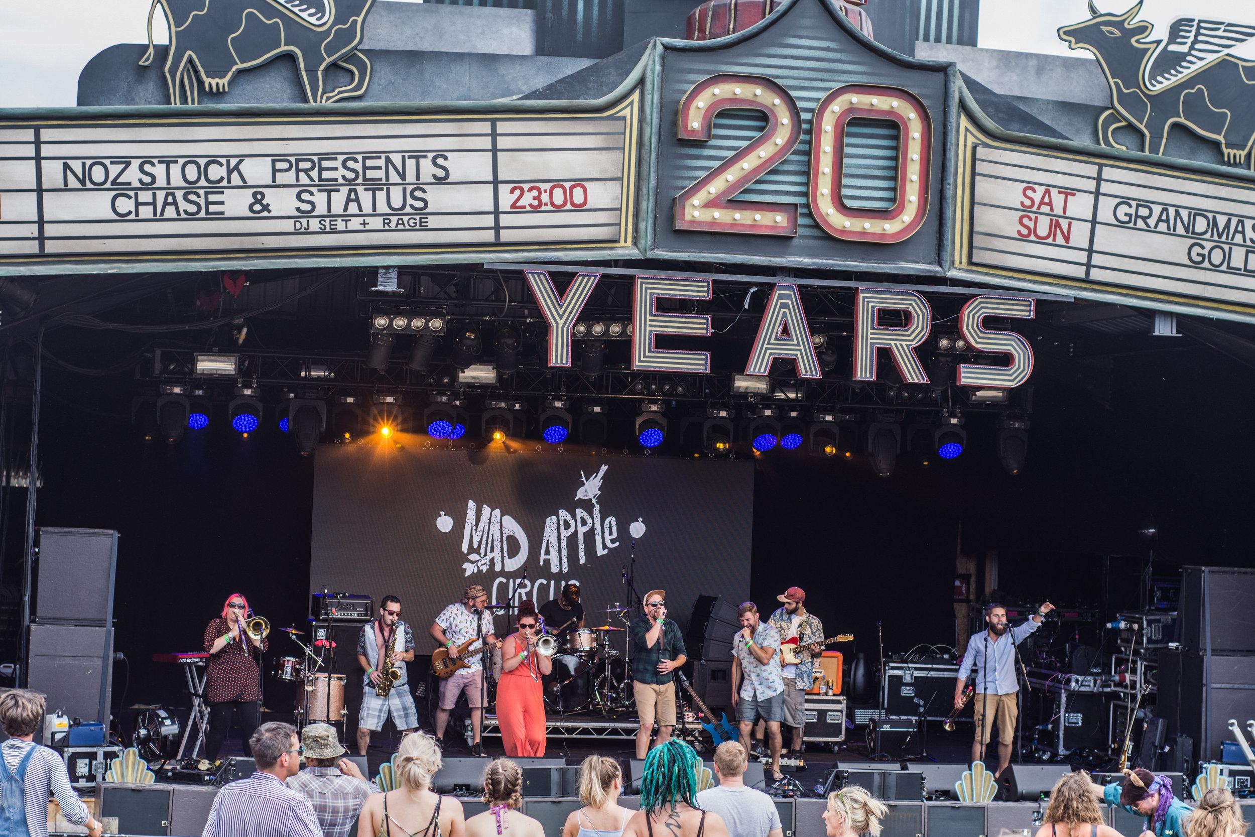 Orchard Stage: Nozstock 2018