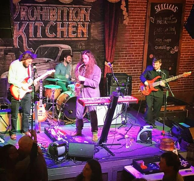Had a blast last night at the Prohibition Kitchen in St. Augustine, Florida. The Spring Training Tour brings us to Norcross, Georgia for a night of funk at Confetti's Taz Bar!