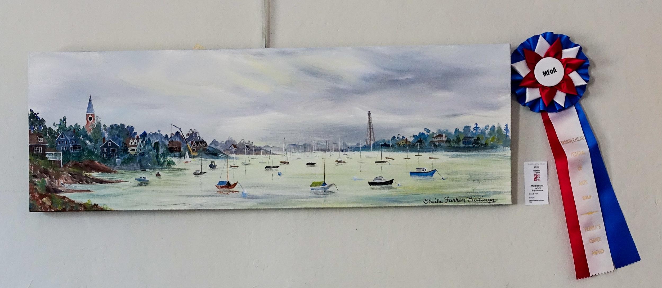 Painting the Town, Sheila Farren Billings