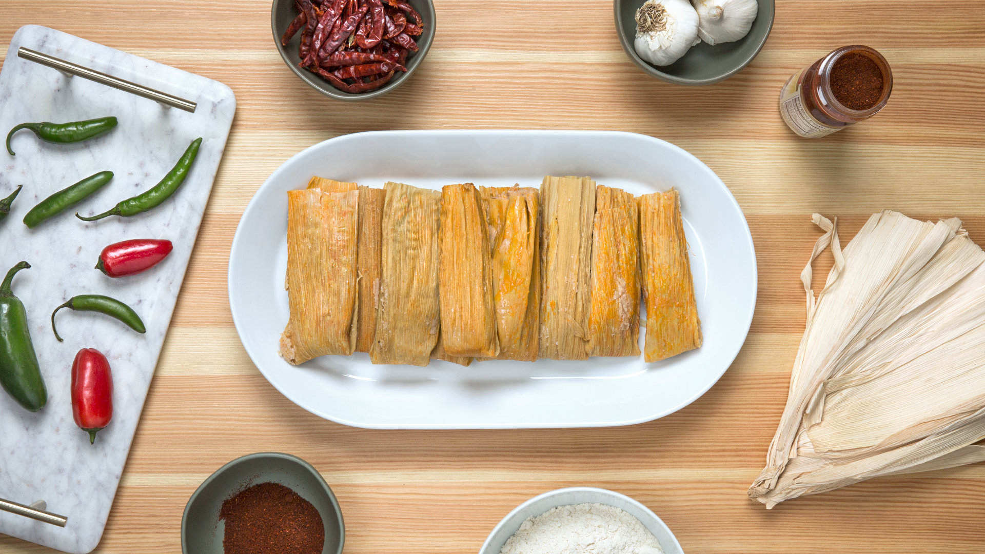 """""""Forget the fruitcake. In Texas we make tamales."""""""