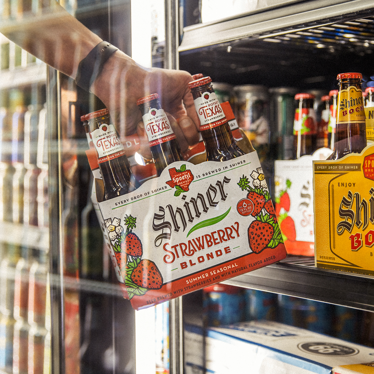 """""""The best place to pick strawberries is in the beer aisle."""""""