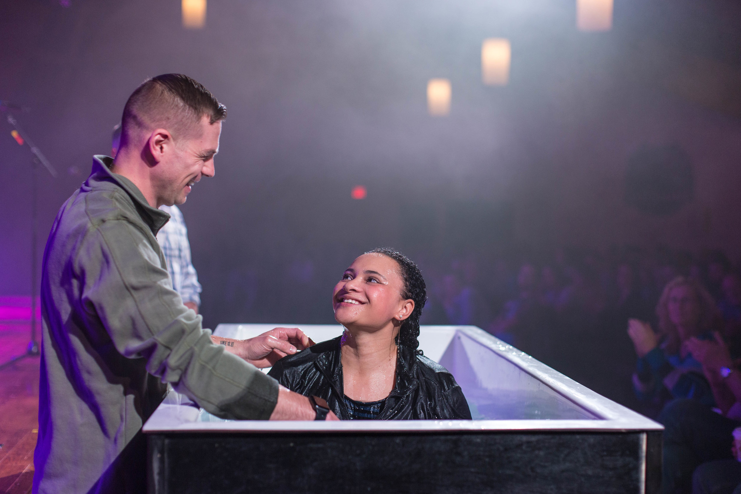 BAPTISM - Declare whose you are! Baptism is going public with your decision to follow Jesus.Once you have put your faith in Christ, baptism is the next step, and we love celebrating that God has made you a new creation.Are you ready for this step?