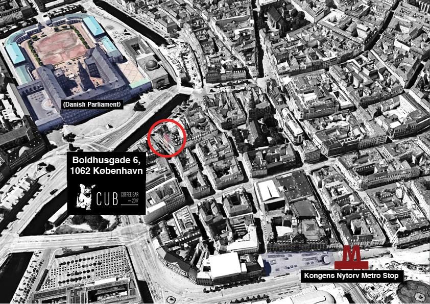 CUB Coffee Bar, Boldhusgade 6, 1062 Copenhagen (click to see location in Google Maps)